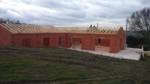 photo maison sud et toit